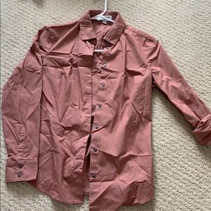 Express ultimate essential fitted button up